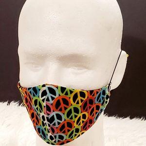 3 cor $15 Rainbow Peace mask (Bundle & Save)